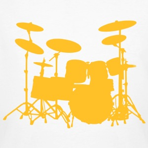 Drum Set - Männer Bio-T-Shirt