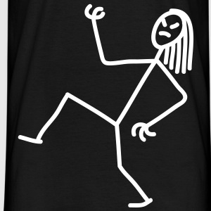 air_guitar_stick_figure_1c Camisetas - Camiseta hombre