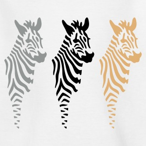 Drei Zebras - Teenager T-Shirt