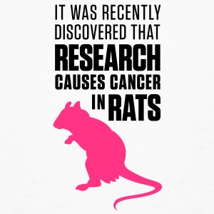 Research Causes Cancer 1 (2c)++ T-Shirts - Men's Organic T-shirt