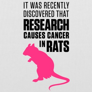 Research Causes Cancer 1 (2c)++ Bags  - Tote Bag