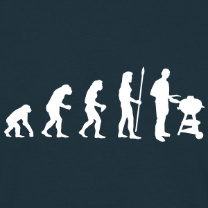 evolution_grill1 T-Shirts - Men's T-Shirt