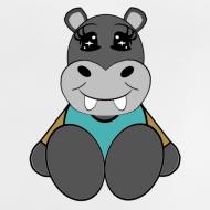 Motif ~ T shirt bébé hippopotame