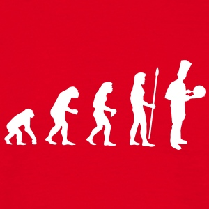 evolution_cook1 T-Shirts - Men's T-Shirt