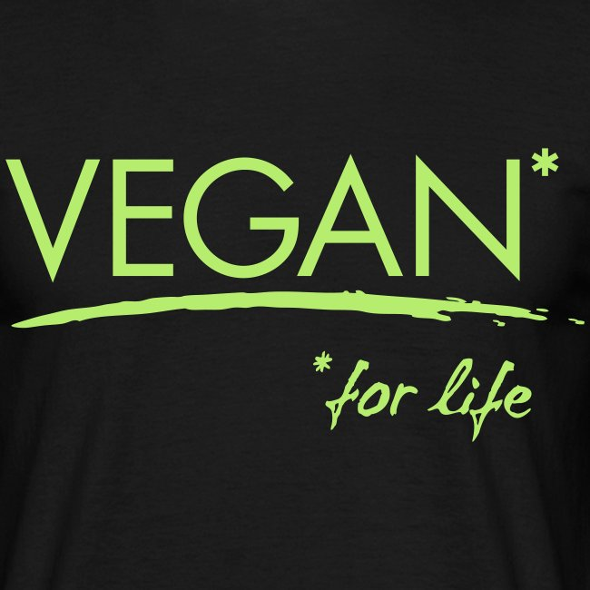 Mens - VEGAN* for life