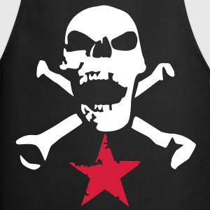 skull_and_stars_072011_i_2c  Aprons - Cooking Apron