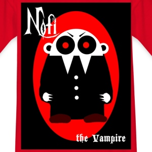 Nofi - the Vampire (mit Schrift) - Teenager T-Shirt