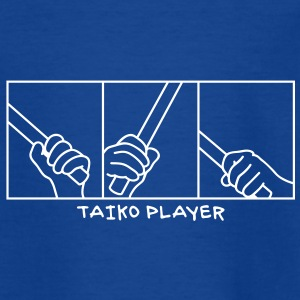 Taiko Drum Hands Kids' Shirts - Teenage T-shirt