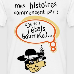 mes histoires1 T-shirts - T-shirt Homme