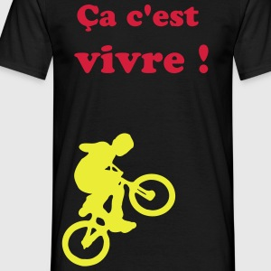 bike_jumper T-shirts - T-shirt Homme