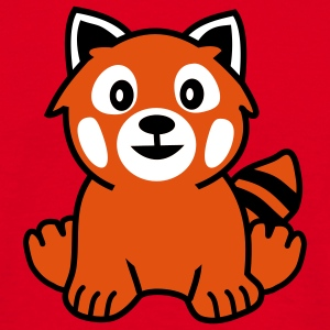 Red Panda Bear T-Shirts - Männer T-Shirt