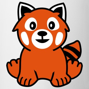 Red Panda Bear Kopper - Kopp