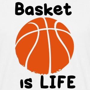 basket is life T-shirts - T-shirt Homme