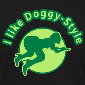 doggy_style1_3c T-Shirts - Men's T-Shirt