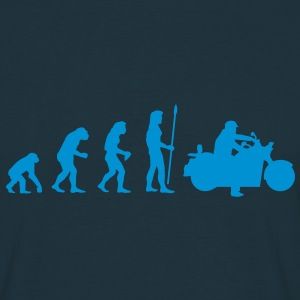 evolution_motorbike2 T-shirts - Mannen T-shirt