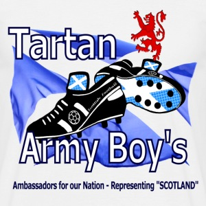 tartan army boys scotland T-Shirts - Men's T-Shirt