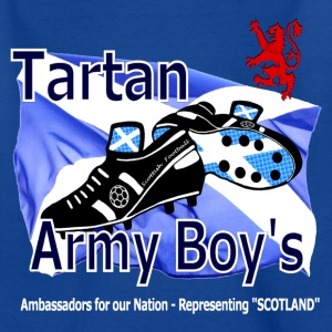 Tartan Army Boys Scotland Kids Classic - Teenage T-shirt