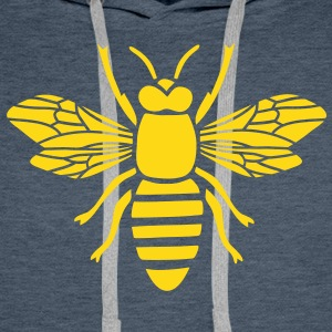 Abeille guêpe Bourdon Hornet Sweat-shirts - Sweat-shirt à capuche Premium pour hommes