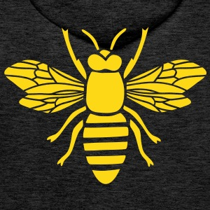 bee hoody t-shirt i love honey bumble bee honeycomb beekeeper wasp sting busy insect wings wildlife animal - Men's Premium Hoodie