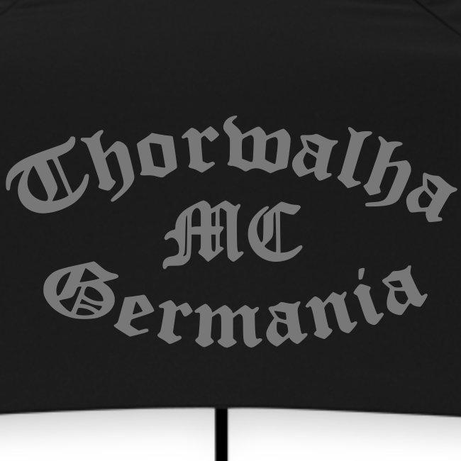 TW - Schirm - Schriftfarbe Grau