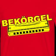 Ontwerp ~ Gronings T-shirt Bekörgel - Mondharmonica