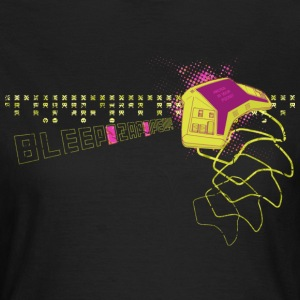 Bleep Zap Pew: Retrogaming Handheld T-Shirts - Frauen T-Shirt