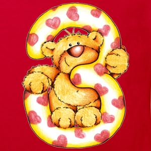 Sweet little bear and the 3 T-shirt bambini - Maglietta ecologica per bambini