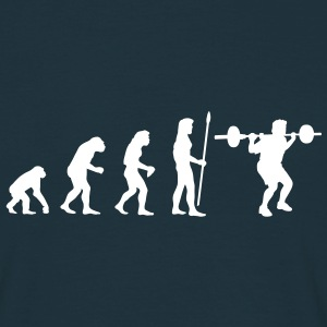 evolution_bodybuilding1 T-shirt - Maglietta da uomo