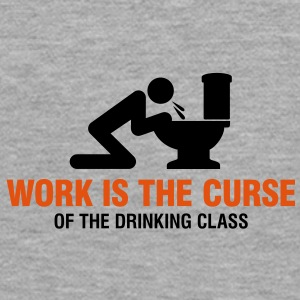 Work Is The Curse 2 (2c)++ Sweatshirts - Dame Premium hættetrøje