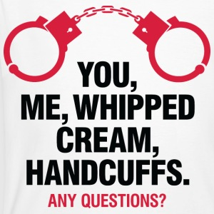 Whipped Cream And Handcuffs 2 (dd)++ T-Shirts - Men's Organic T-shirt