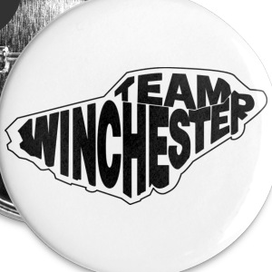 Team Winchester (light) Buttons - Buttons large 56 mm
