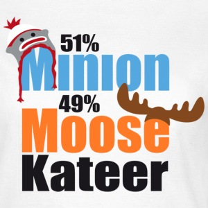 51% Minion 49% MooseKateer T-Shirts - Women's T-Shirt