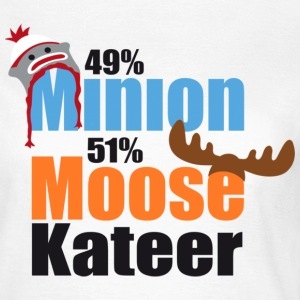 49% Minion 51% MooseKateer T-Shirts - Women's T-Shirt
