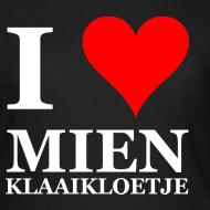 Ontwerp ~ Gronings damesshirt I love mien klaaikloetje / liefje