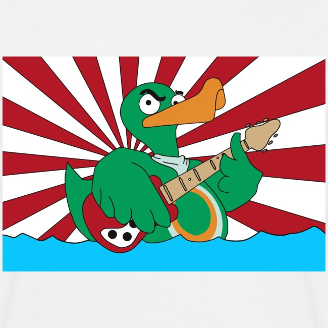 Basic T-Shirt duck@war