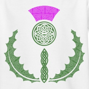 Celtic Knotwork Thistle - Teenage T-shirt