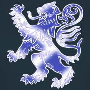 Scottish Lion Rampant with Saltire Flag - Women's T-Shirt