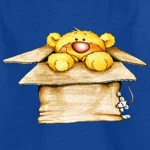 Bear in the box Kinder T-Shirts - Teenager T-Shirt