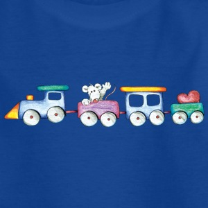 Cute little train Kids' Shirts - Teenage T-shirt