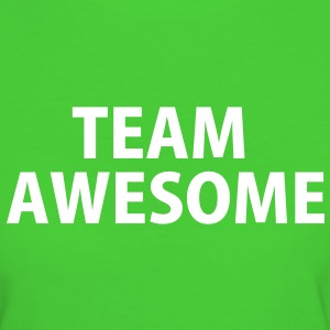 Team Awesome T-Shirts - Frauen Bio-T-Shirt
