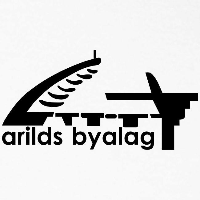 Arilds Byalag tvåfärgad långärmad t-shirt herr