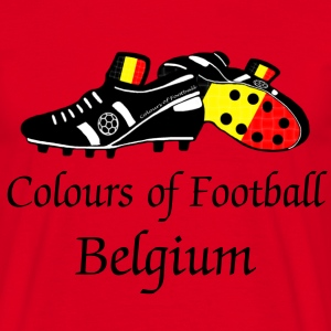 belgium colours of football T-Shirts - Men's T-Shirt