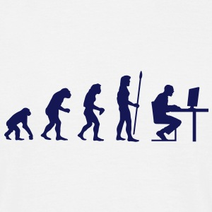 evolution_pc_3 T-Shirts - Männer T-Shirt