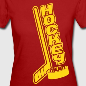 Hockey Mum, Stick & Puck T-Shirts - Women's Organic T-shirt