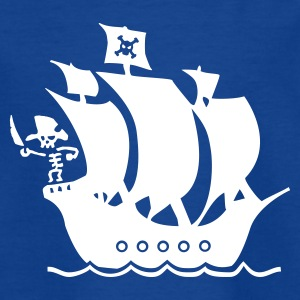 piratenschip Shirts - Teenager T-shirt