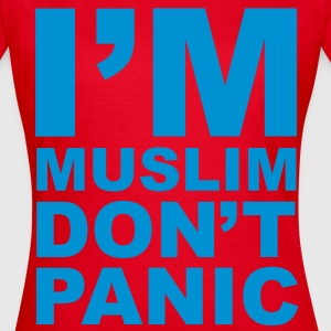 I'm Muslim Don't Panic T-Shirts - Frauen T-Shirt