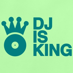 DJ is King Plattenspieler Turntable Schallplatte Schallplattenspieler Vinyl Discjockey club musik so Baby T-Shirts - Baby T-Shirt