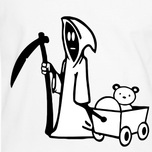 Grim Reaper, Grim Reaper with bear carts T-Shirts - Men's Ringer Shirt