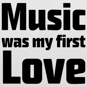 Music was my first Love Bags  - Tote Bag