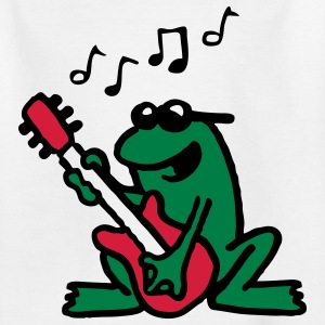 frog_n_roll_072011_b_3c Shirts - Teenage T-shirt